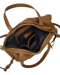 Sanctuary - Flora Leather And Suede Tote - Lyst