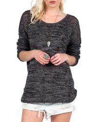 Volcom 'twista Sista' Sweater - Black