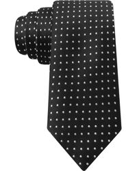 Tommy Hilfiger Satin Dot Slim Tie - Lyst