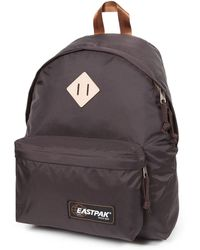 Eastpak Padded Pack'R Dark Brown Nylon Backpack - Lyst