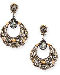 Jose & Maria Barrera | Beaded Filigree Hoop Drop Earrings | Lyst