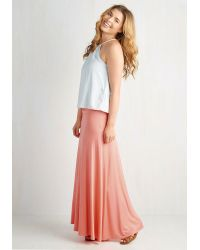 Mai Tai - Day At Sea Skirt In Coral - Lyst