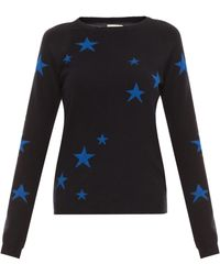 Chinti & Parker Star Crew Sweater - Lyst