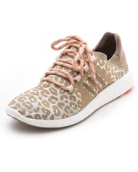 Adidas By Stella Mccartney Pure Boost Sneakers Natural Greygingerred Zest - Lyst