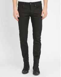 G-Star RAW | Black 3301 Stretch Slim-fit Jeans | Lyst