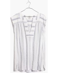 Madewell Belize Cover-Up Tunic - Lyst