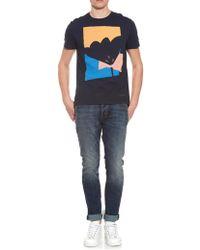 Burberry Brit - Ravensleigh Cotton-Jersey T-Shirt - Lyst