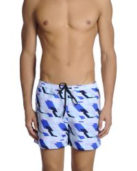 Dirk Bikkembergs - Swimming Trunk - Lyst
