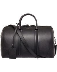 Givenchy Black Leather Gym Bag