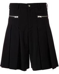 99% Is - Box Pleat Shorts - Lyst