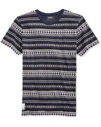 Wesc Box Striped T-shirt - Lyst