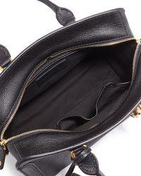 Alexander McQueen Skull Padlock Small Leather Satchel Bag - Lyst