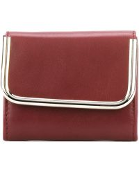 Carven 'st Sulpice Porte Feuille' Wallet - Red