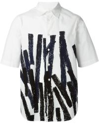 Marni Striped Pattern T-Shirt - Lyst