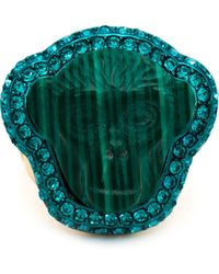 Vivienne Westwood 'Fay' Ring green - Lyst