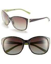 f73f580b6b Smith Optics -  lookout  57mm Polarized Cat Eye Sunglasses - Apple  Tortoise  Polar