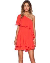 Rachel Zoe Brunelle Bib Dress - Lyst