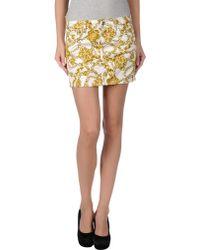 Liu Jo   Mini Skirt   Lyst
