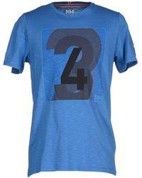 Helly Hansen | blue T-shirt | Lyst
