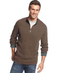 Tommy Bahama New Flip Side Pro Reversible Half-Zip Sweater - Lyst