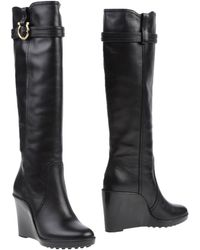 Ferragamo Boots black - Lyst