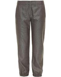 Max Mara Studio Eccelso Trousers - Grey