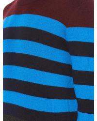 Burberry Brit - Elmer Striped Wool-Blend Jumper - Lyst