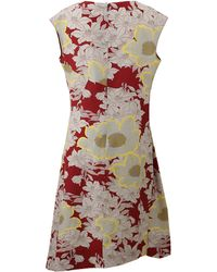 Marni Cap Sleeve Print Dress - Lyst