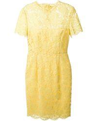 Valentino Lace Dress - Lyst