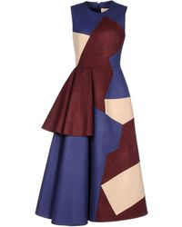 Roksanda Ilincic Long Dress - Lyst