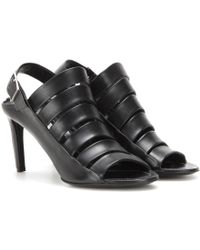 Balenciaga | Leather Sandals | Lyst