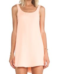 Blaque Label Tank Mini Dress - Lyst