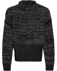 Jil Sander Cashmere Turtleneck Sweater - Lyst