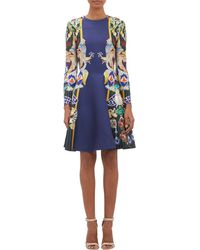 Mary Katrantzou Jewel Print Fit and Flare Dress - Lyst