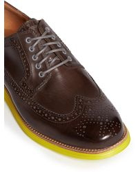Cole Haan 'Lunagrand' Long Leather Wingtips - Lyst