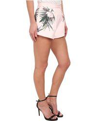 Stylestalker Pink Darling Shorts - Lyst