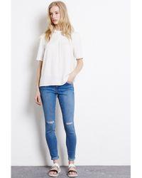 Warehouse - Super Soft Skinny Jeans - Lyst