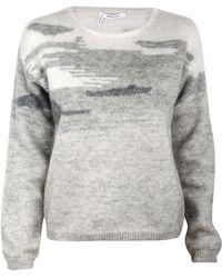 10 Crosby Derek Lam Slim Long Sleeve Crew Sweater - Lyst