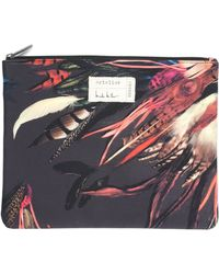 Nicole Miller Tailfeather Pouch - Lyst