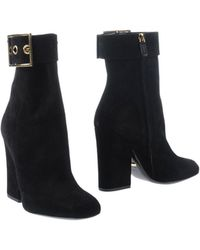Gucci Kesha Suede Ankle Boots - Black