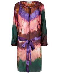 Emilio Pucci Tie Dye Tunic Dress - Lyst