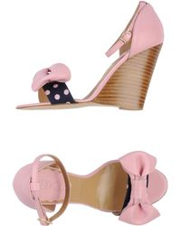 RED Valentino - Wedge - Lyst