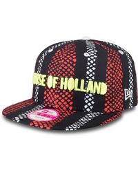 House of Holland Red Viper New Era Cap - Lyst