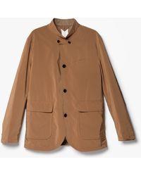 Still By Hand   Jacket In Camel   Lyst