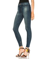 J Brand High Rise Ankle Zip - Lyst
