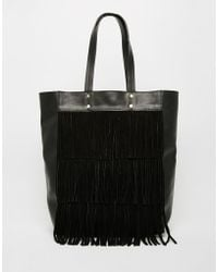 Faith - Fringe Layered Tote - Lyst