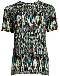 Matthew Williamson Ikat Jersey Print T-Shirt - Lyst