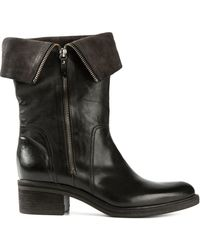 Vic Black Ranger Boot - Lyst
