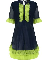 House Of Holland Tulle Over Dress - Lyst