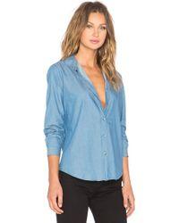 M.i.h Jeans Flight Shirt - Blue